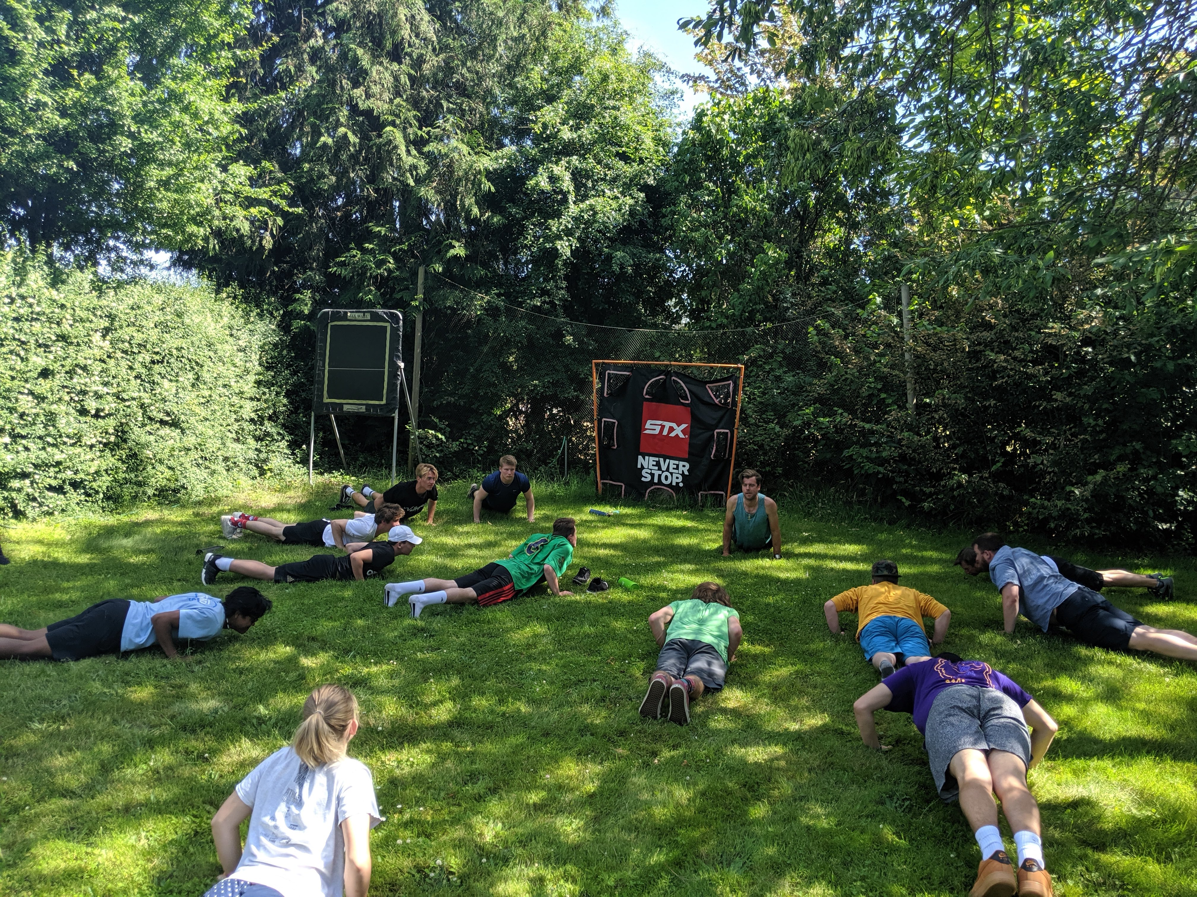 Yoga at Project Gold