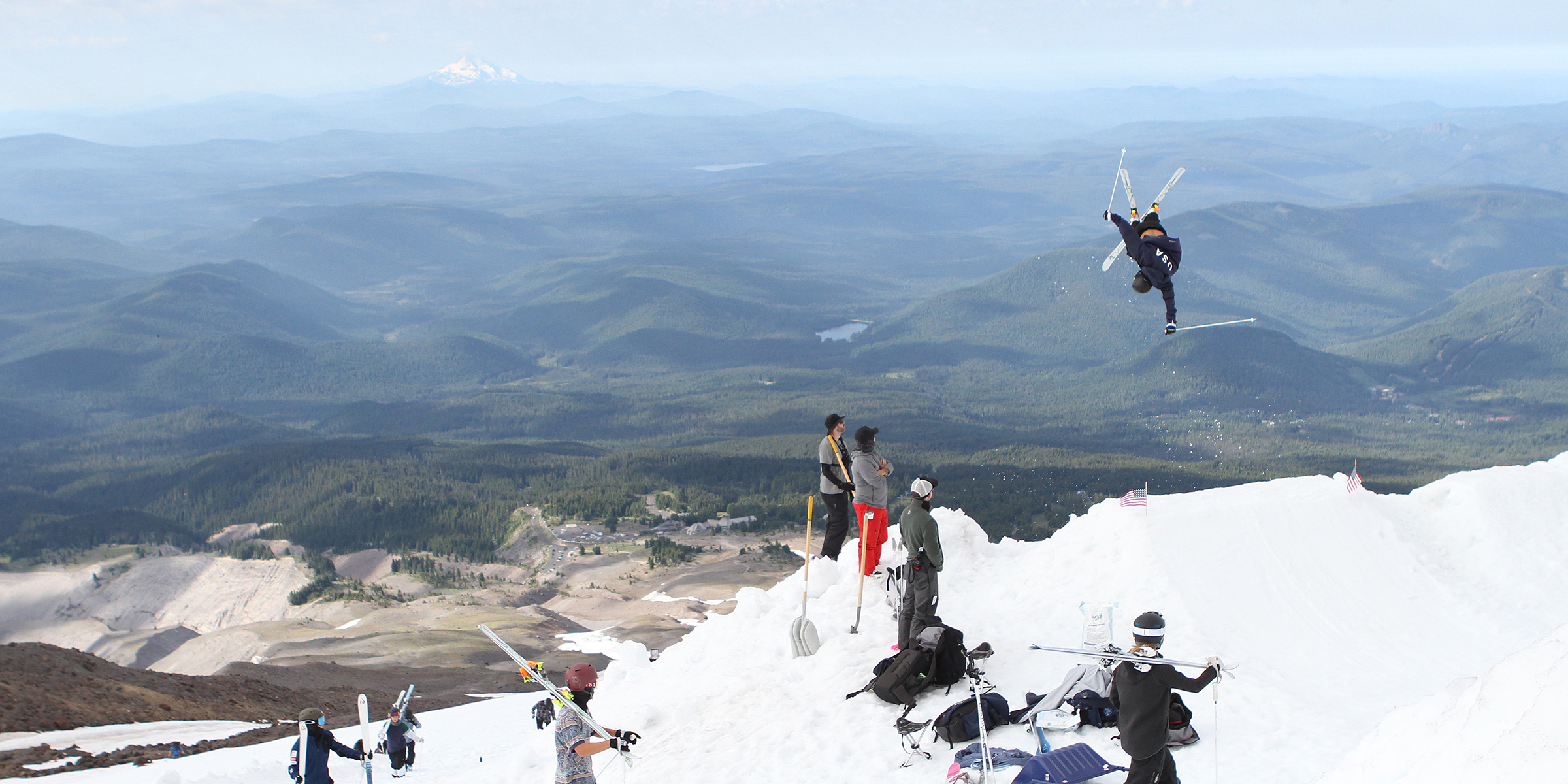 jump site at Timberline
