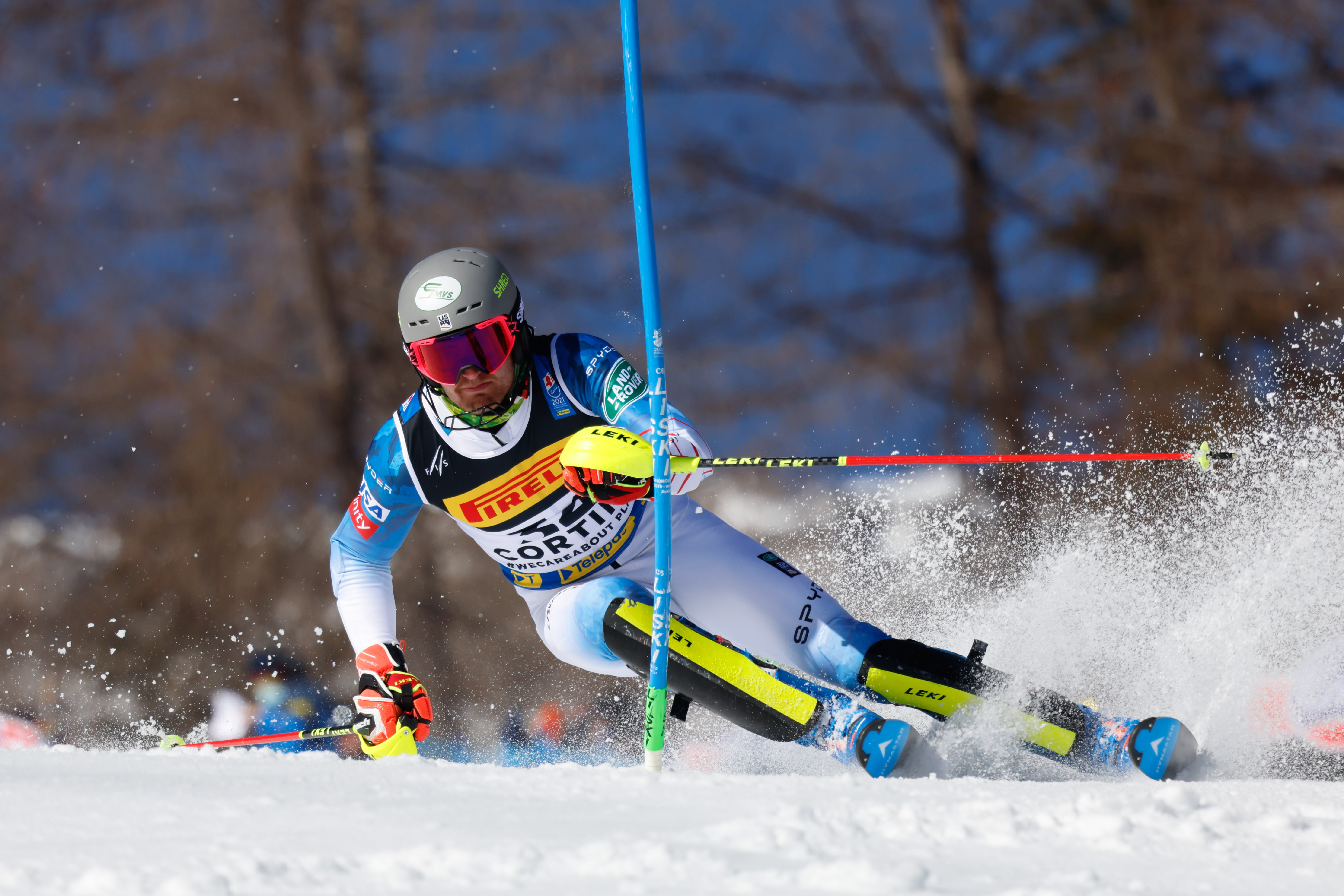 Ben Ritchie Career-Best 13th at Cortina Slalom